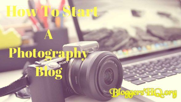 How To Start A Photography Blog Featured