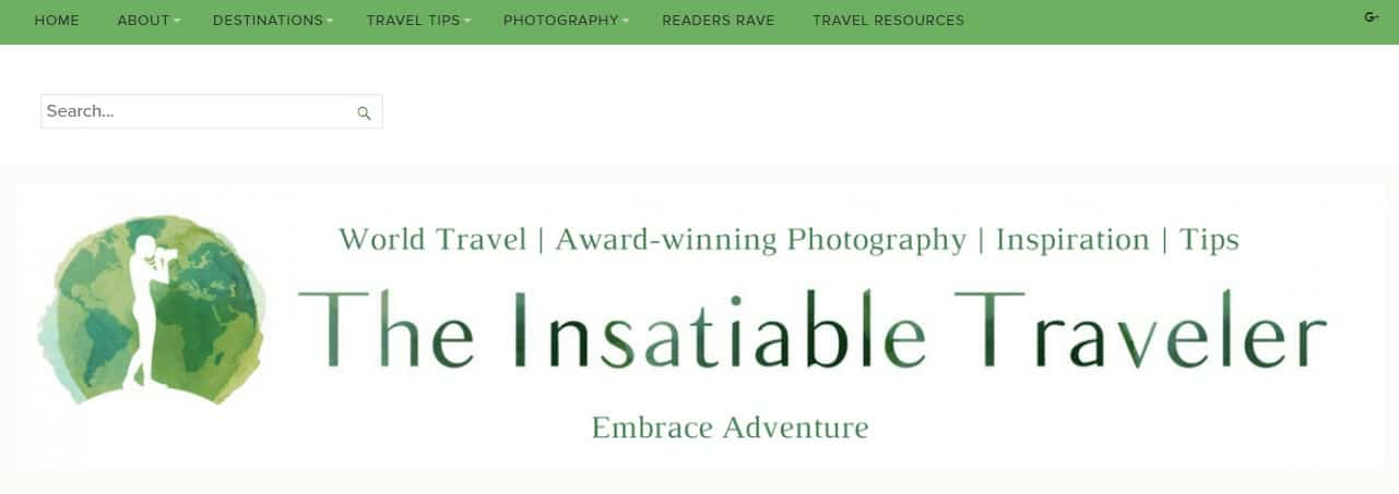 Insatiable traveller a sure fire top travel blog