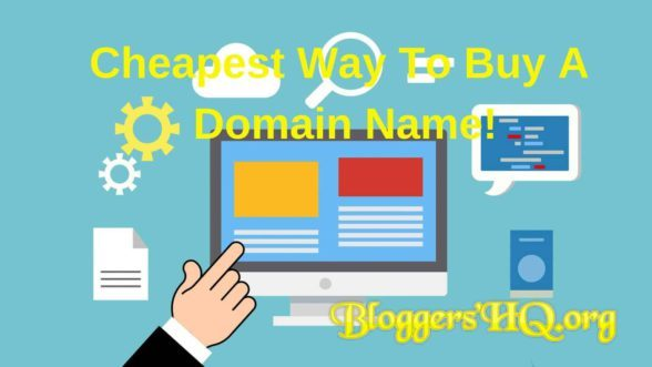 Cheapest Way To Buy A Domain Name Featured