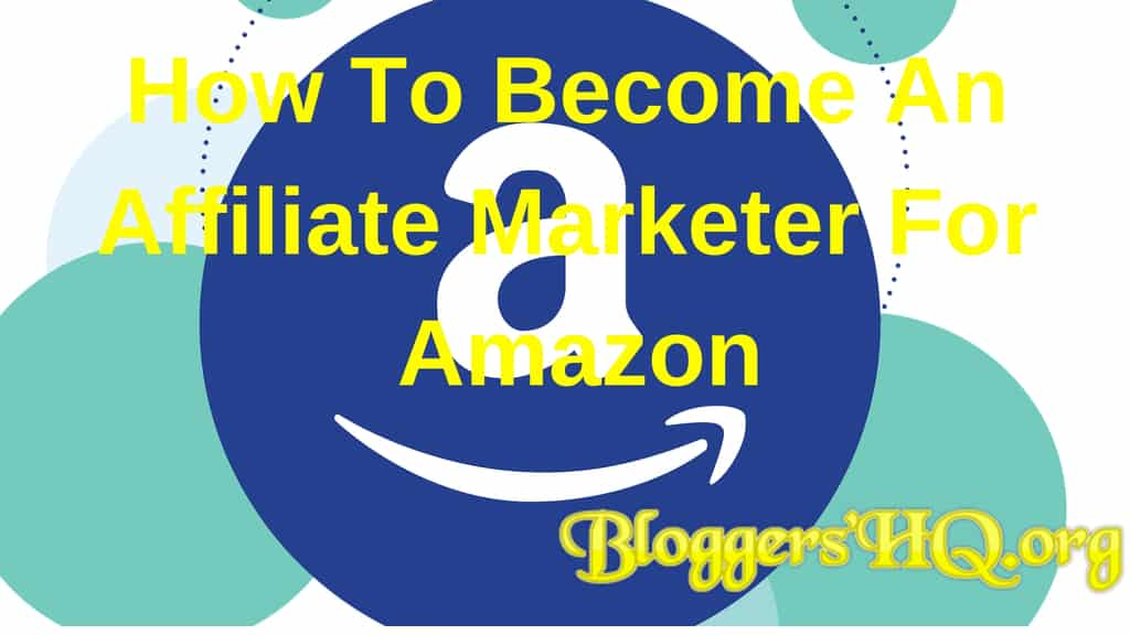becoming an amazon affiliate