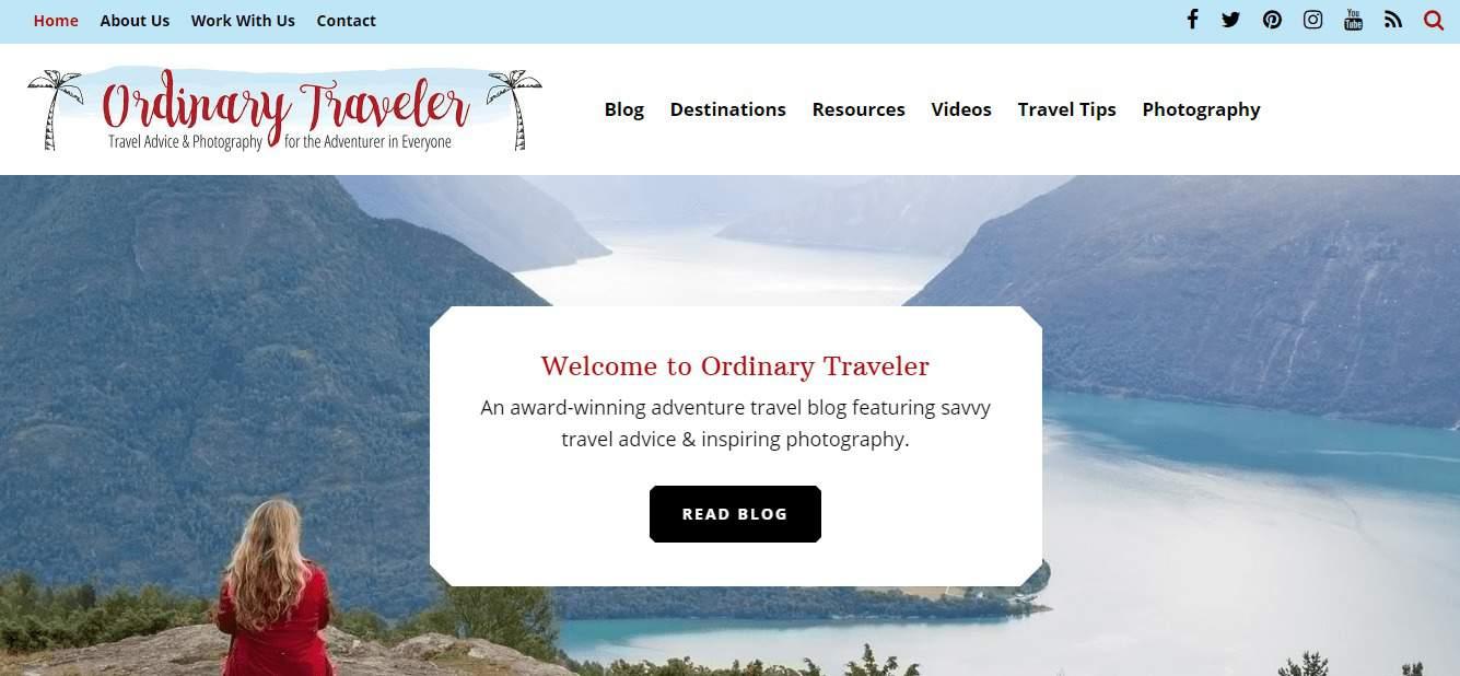 Best 50 travel blogs world wide