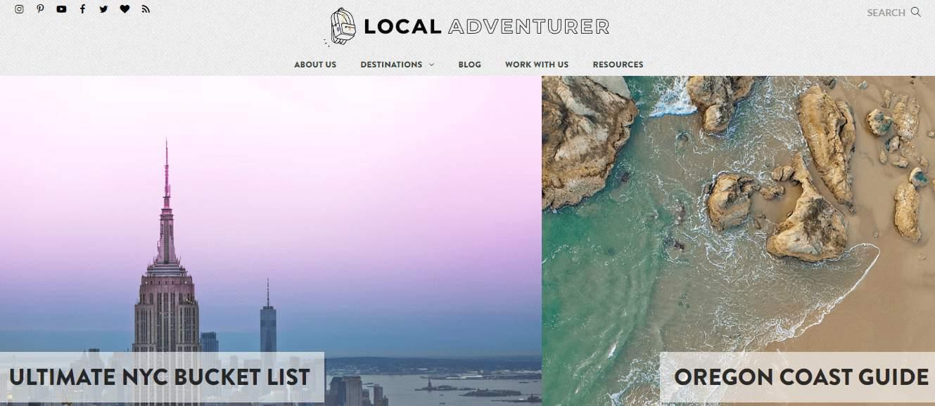 Top 50 travel blogs