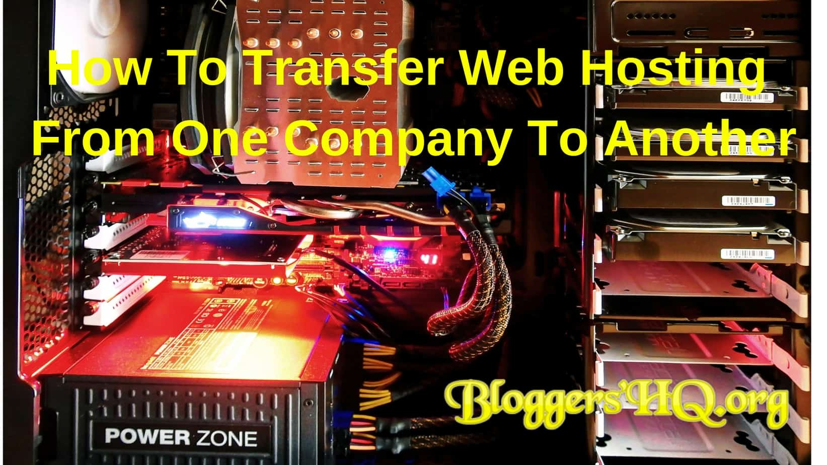 How To Transfer Web Hosting From One Company To Another Featured