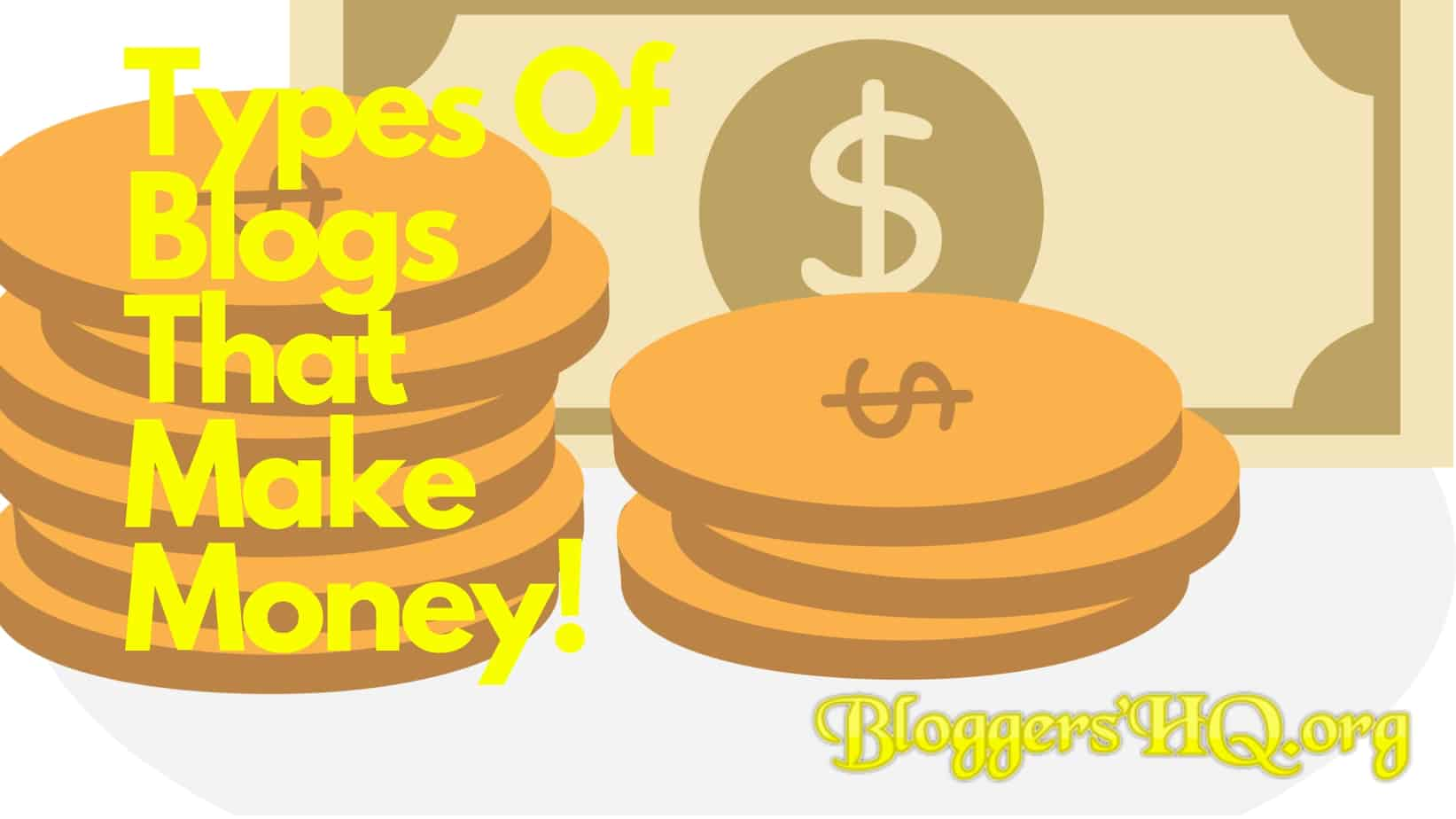 Types Of Blogs That Make Money Featured