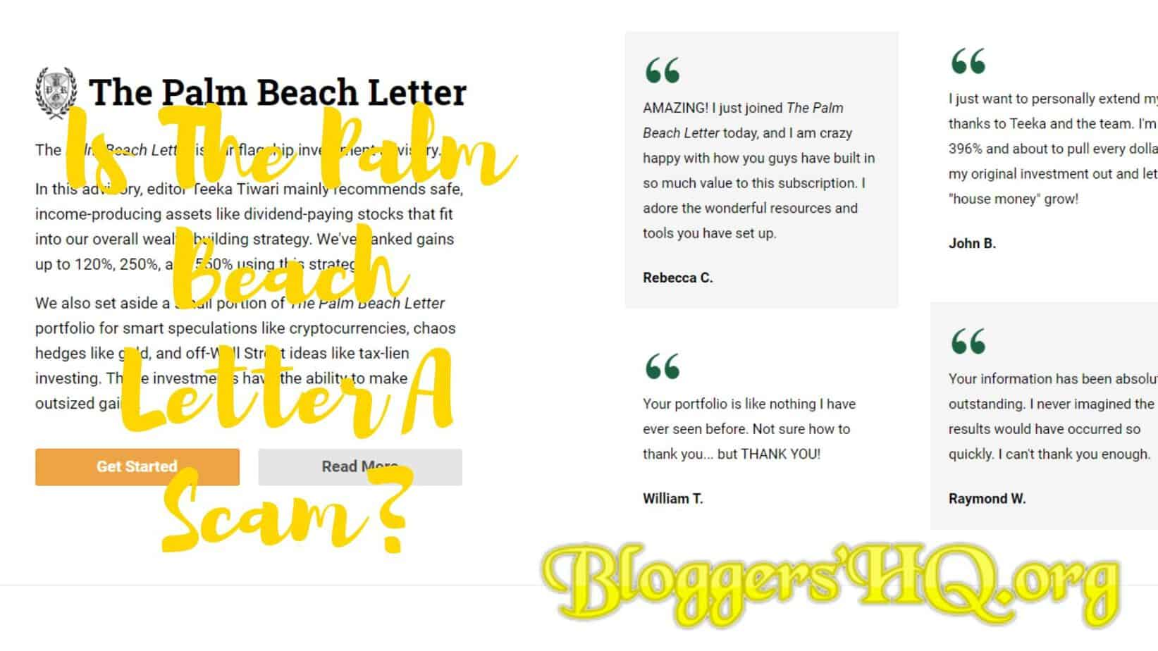 palm beach letter palm letter scam or legit revealed 13547 | The Palm Beach Letter