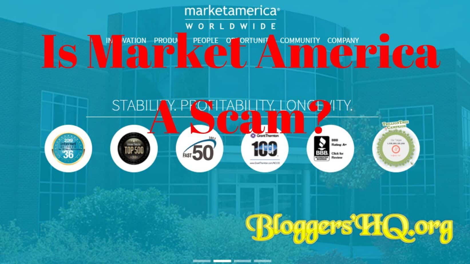 Is Market America A Scam