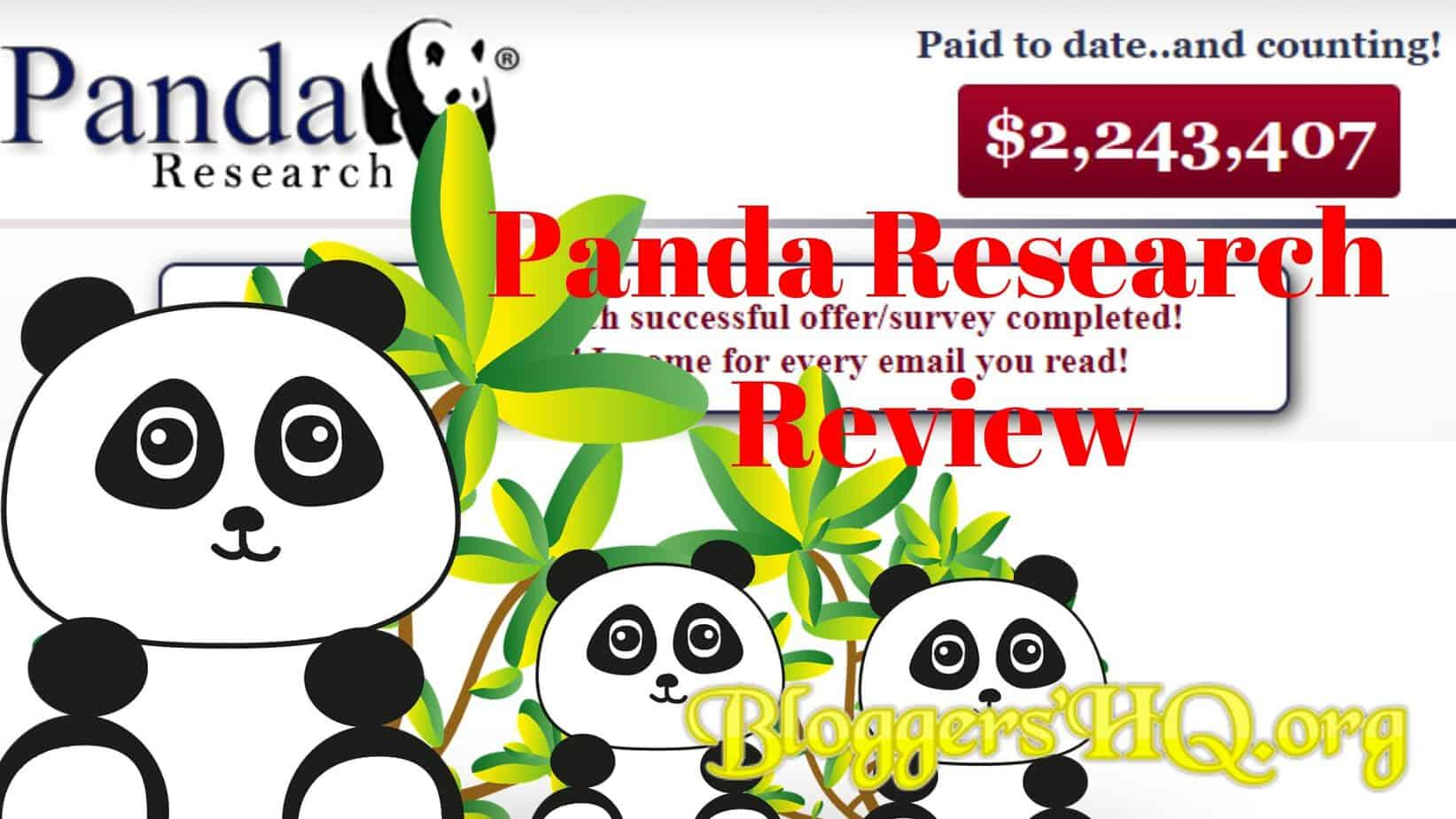 Panda Research Review Scam Or Legit An Honest Review Must Read Bloggershq Org