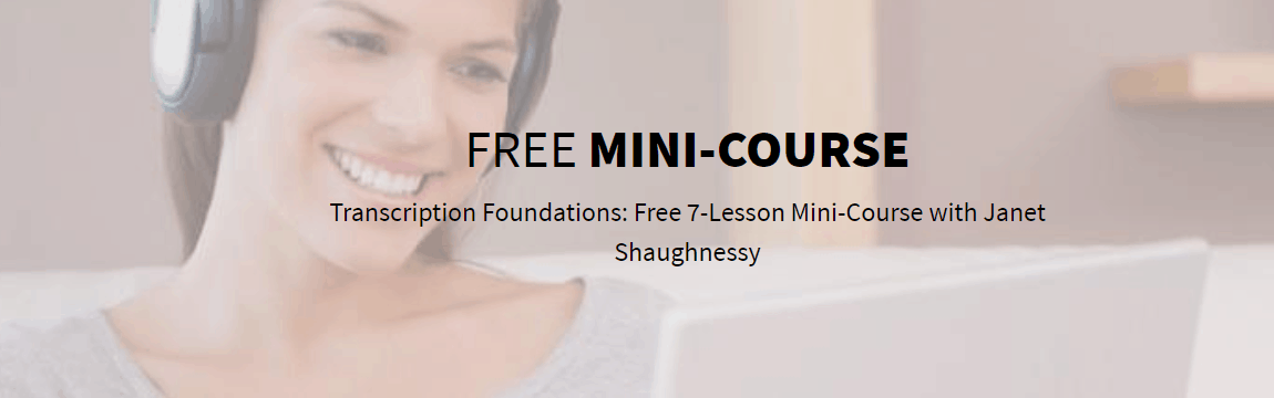 Free 7 Day Transcription Course