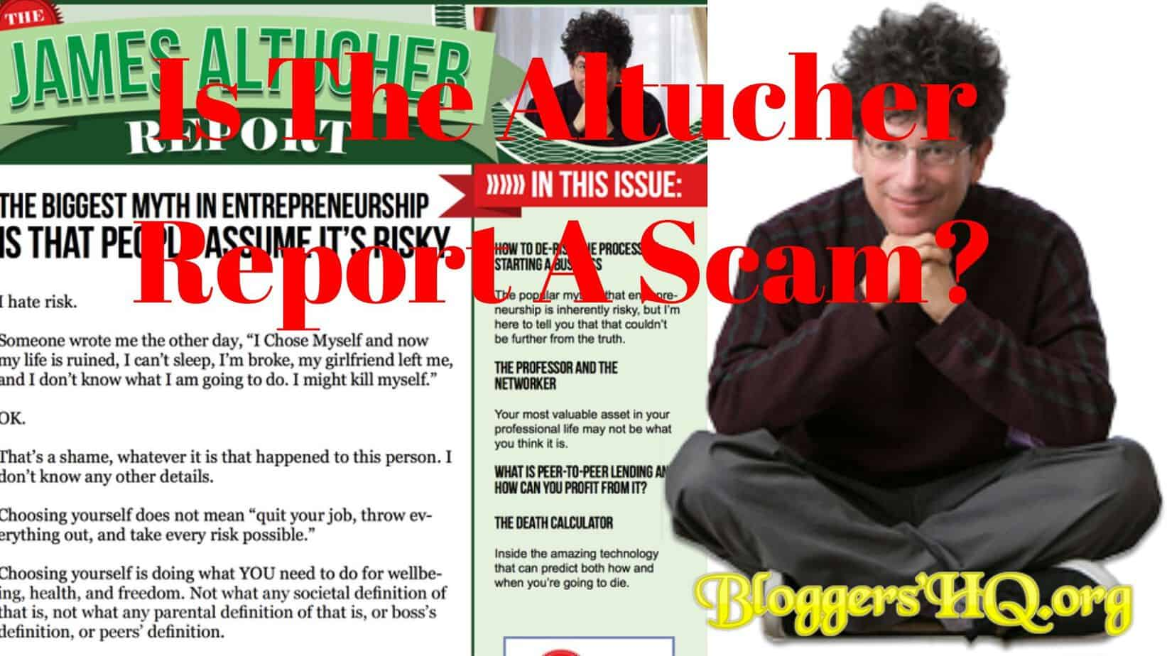 Is The Altucher Report A Scam