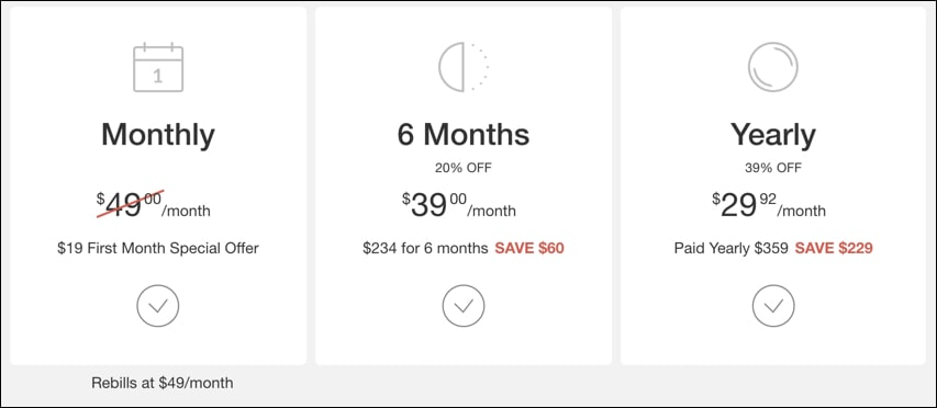 Wealthy Affiliate Pricing