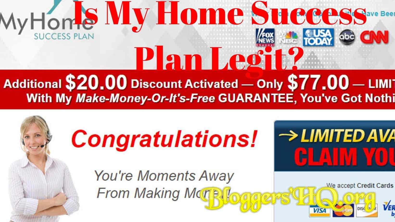 Is My Home Success Plan Legit Or A Scam Exposed