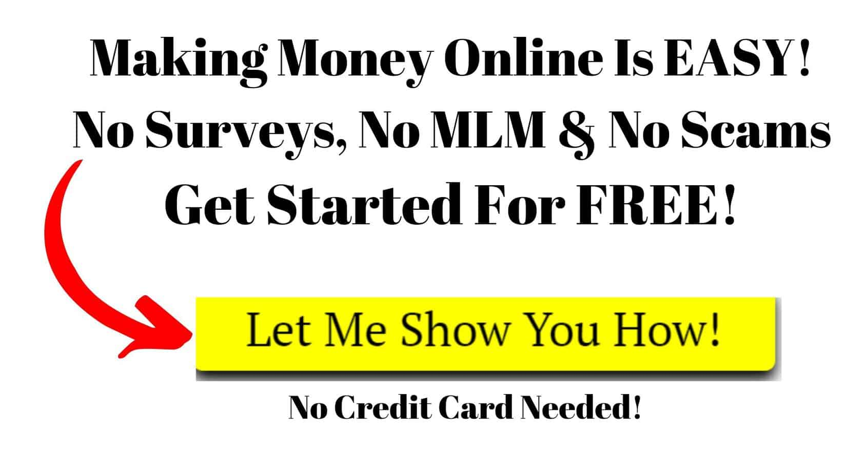 Making Money Online Is Easy CTA New