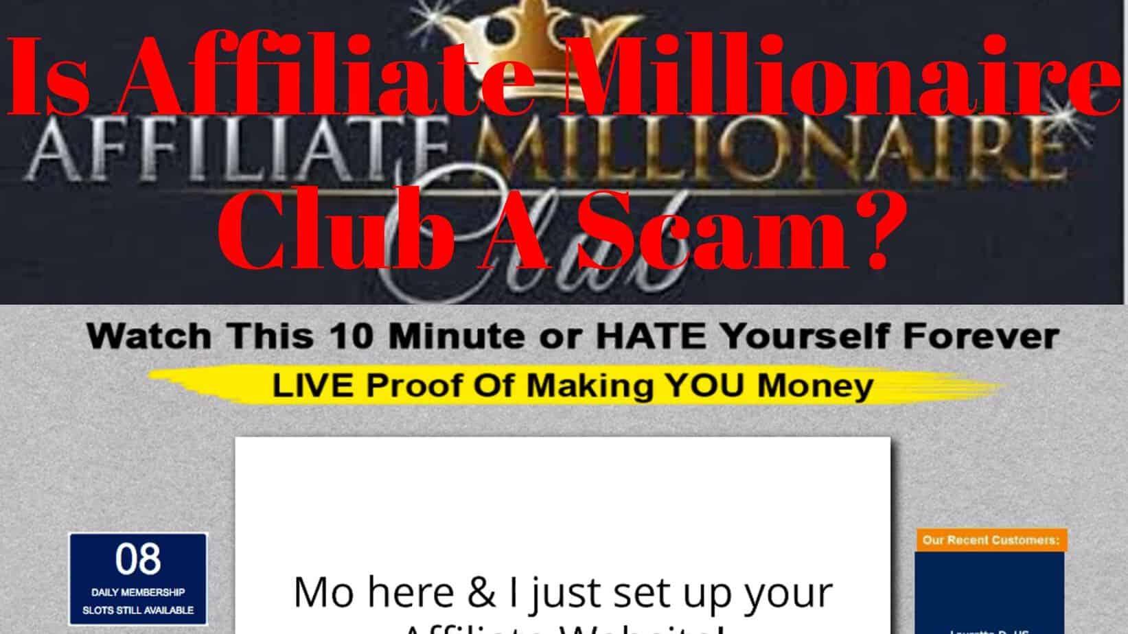 Club scam millionaire Secret Millionaires