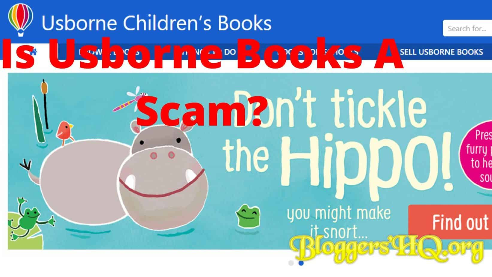 Is Usborne Books A Scam Read Before You Join Review Bloggershq Org