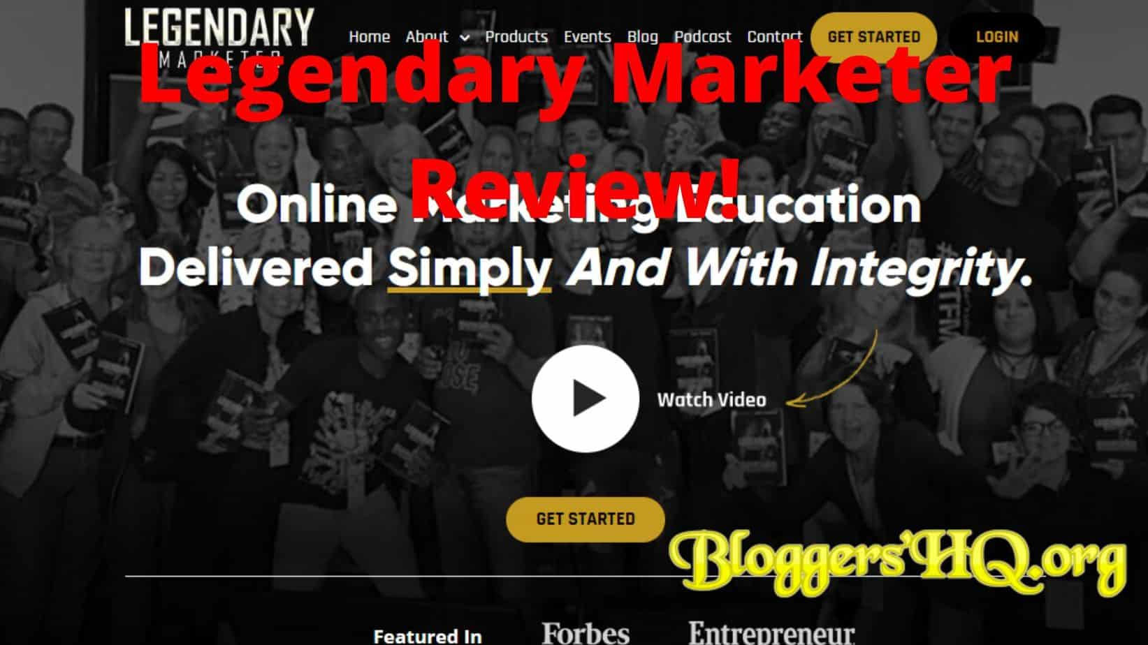 Legendary Marketer Warranty Registration