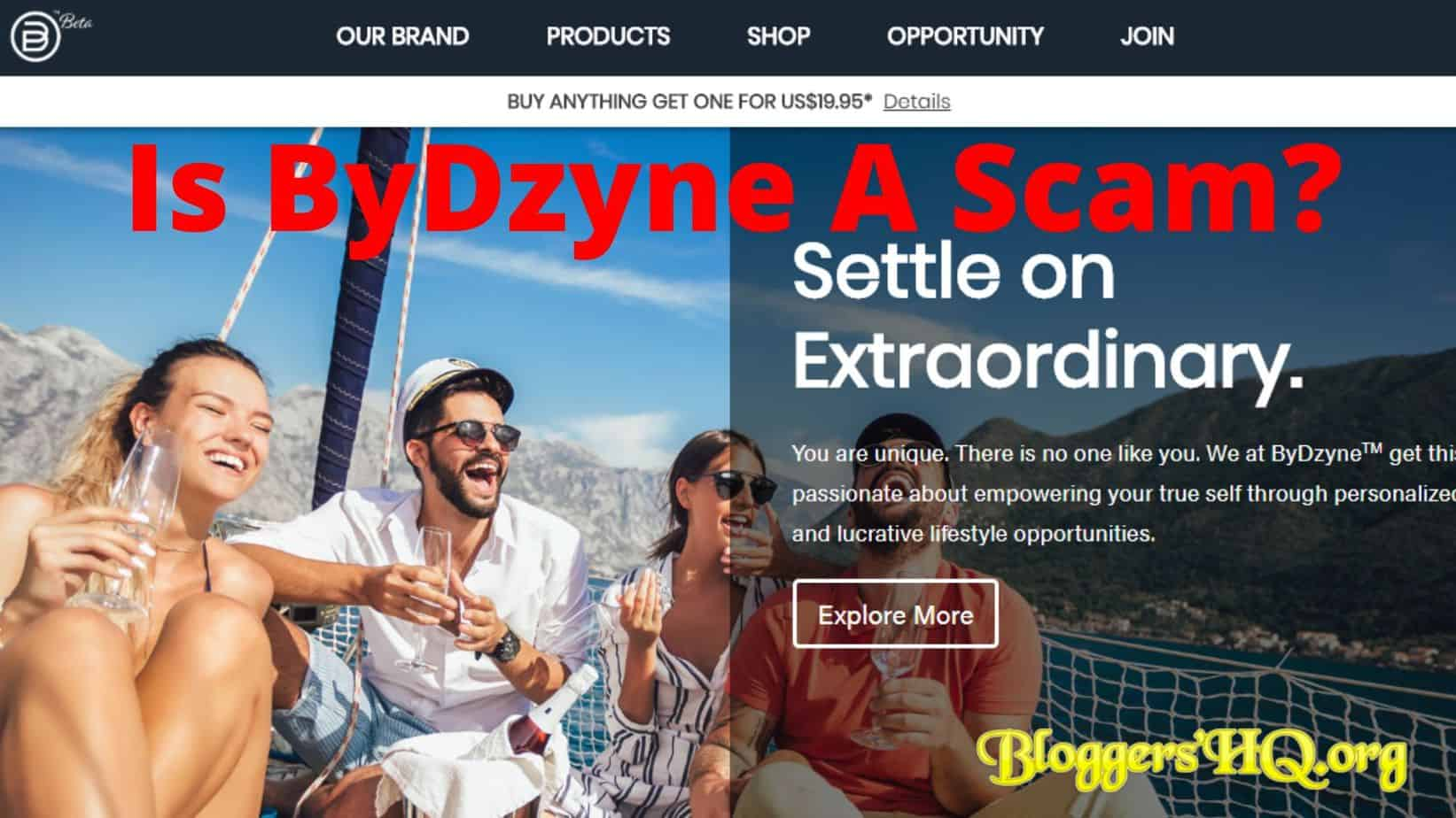 Is ByDzyne A Scam