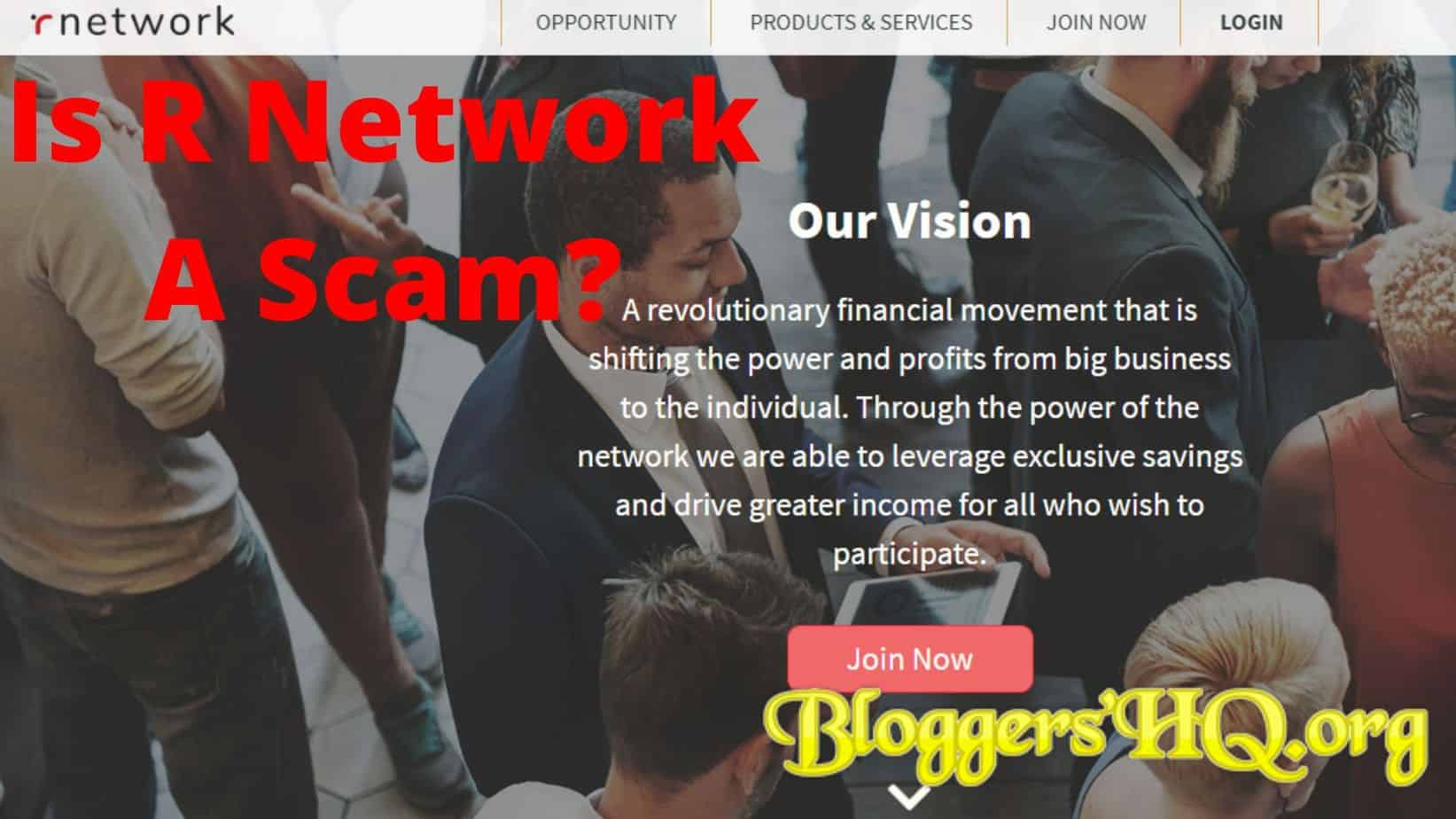 Is R Network A Scam
