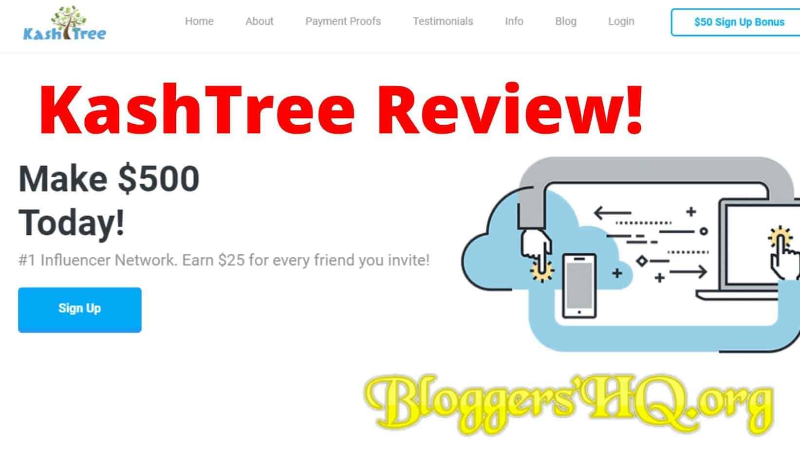 Kashtree Review Is 500 Today Real Bloggershq Org