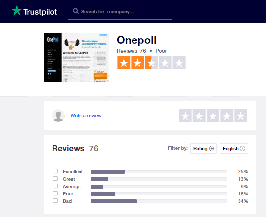 OnePoll Reviews And Complaints